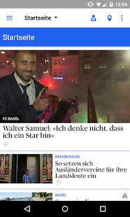 bz Basel News- screenshot thumbnail