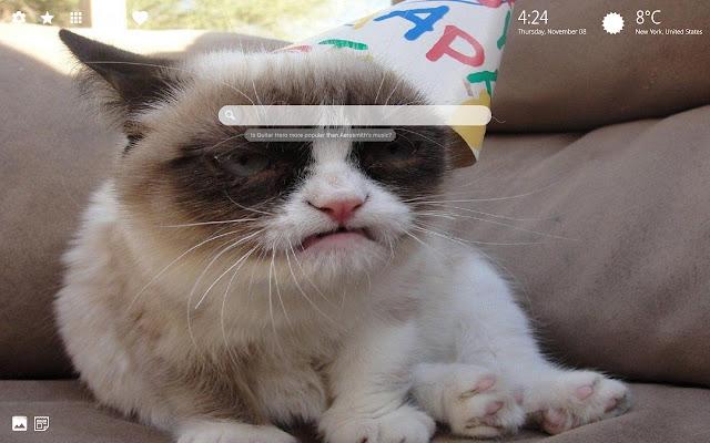 Grumpy Cat HD Wallpapers New Tab