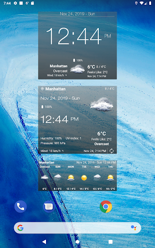 Weather Advanced for Android 1.0.4.6 Screenshots 12