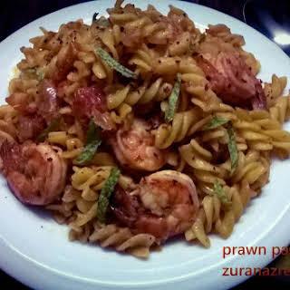 Italian Prawn Pasta.