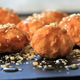 Loukoumades (Greek Donuts).