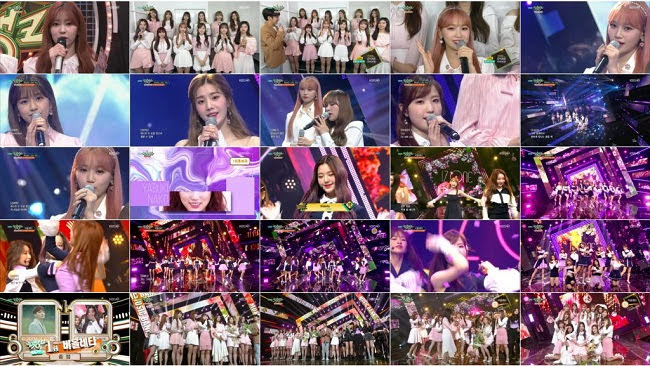 190412 (1080p) IZONE Part – Music Bank