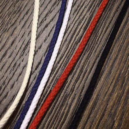 Snöre Bomull - flera färger