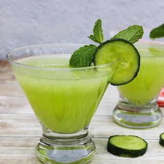 Cucumber Mint Martini Recipe