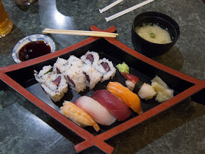 Photo: Day 70-Sushi Lunch