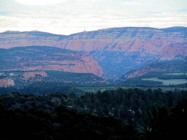 A view into Oak Creek(?)