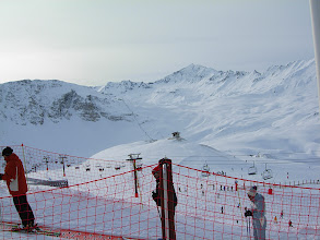 Photo: View from the top of Solaise towards the Madeleine piste