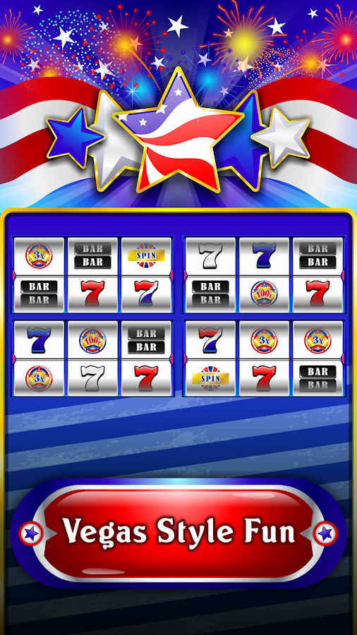 Red White Blue 3 Lines Slots - Play Free Casino Slot Games