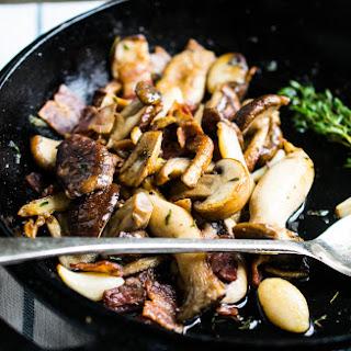 Mushroom Bacon Skillet.