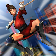 Ninja Girl Superhero Game 1.3
