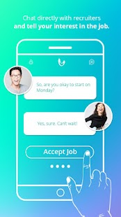 SlingApp – Swipe. Hired.- screenshot thumbnail