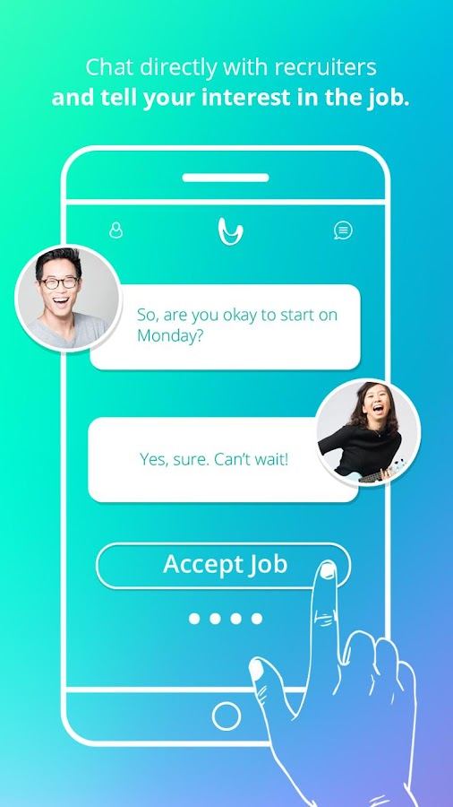 SlingApp – Swipe. Hired.- screenshot