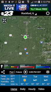 WIFR Weather- screenshot thumbnail