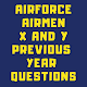 Airforce Group X and Y Previous Year Questions Download on Windows