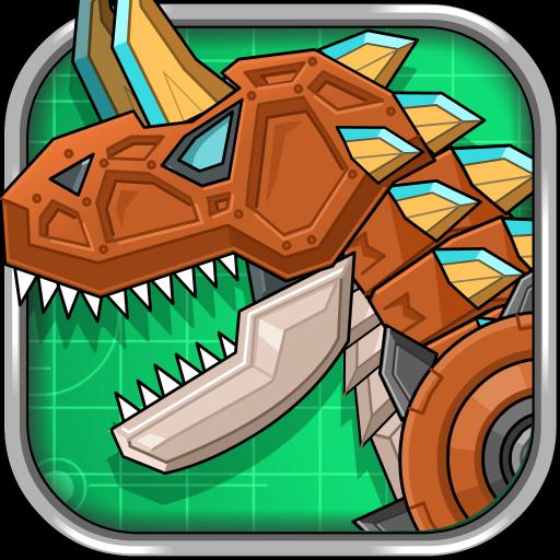 机器牛龙 组装机器恐龙大战 休閒 LOGO-玩APPs