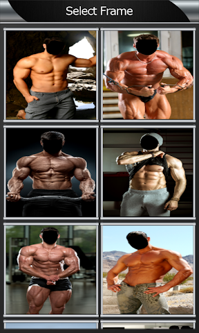 android Body Builder Photo Montage Screenshot 1