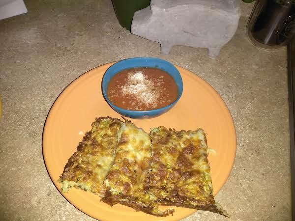 Zucchini Cheesy Bread (low/no Carb) Recipe