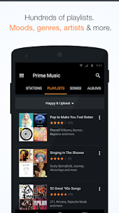 Amazon Music with Prime Music- screenshot thumbnail