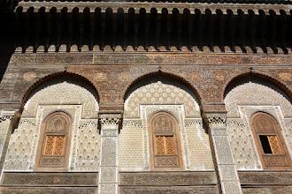 Photo: 14th Century Kuran School.  All the wood is cedar
