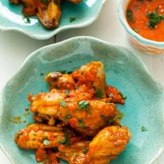 Baked Harissa Chicken Wings