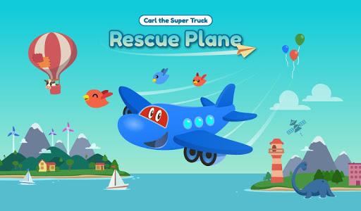 Carl Super Jet:  Airplane Rescue Flying Game screenshots 17