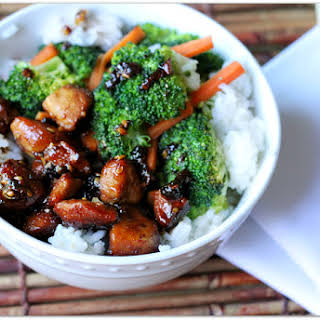 Quick and Easy Chicken Teriyaki Bowl.