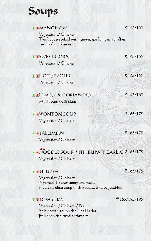Berco's menu 2
