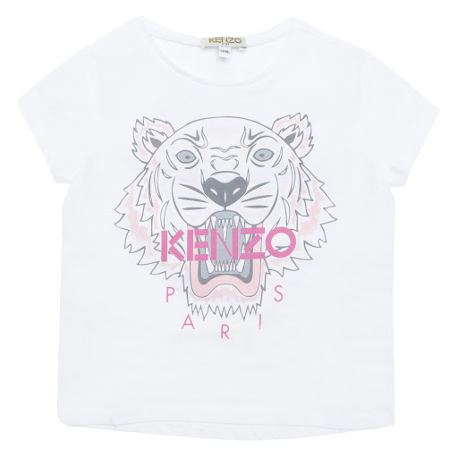 Primary image of Kenzo Kids Cotton Tiger T-shirt