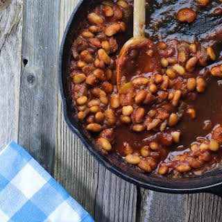 Easy Skillet BBQ Baked Beans.