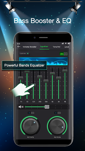 Volume Booster - MP3 Equalizer - Music Player