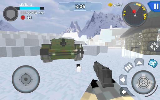 Cube Wars Battle Survival screenshots 23