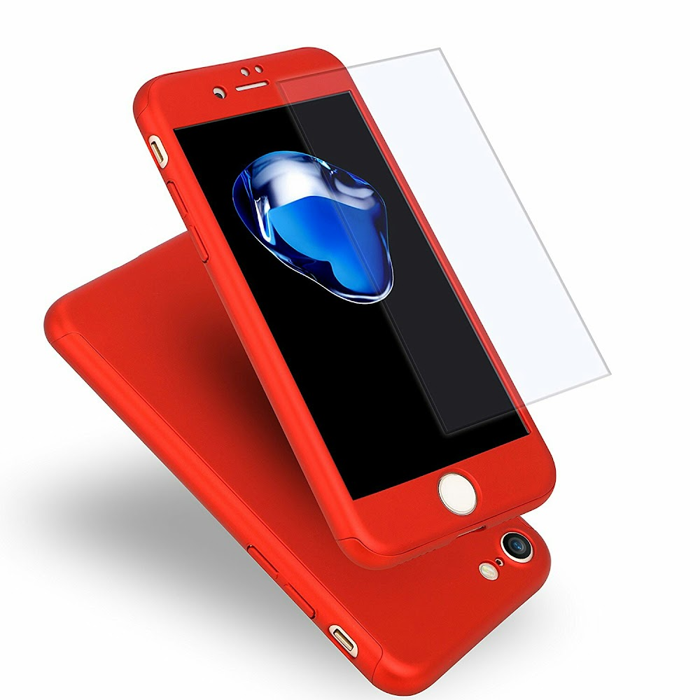 iphone case 360° full protector with template glass