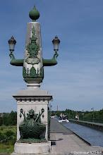 Photo: Entrée du pont canal de Briare