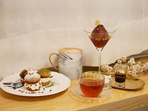 P&C Boutique Cafe - 台北中山特色咖啡館,樓下是金工、皮革手作DIY及飾品販售,樓上則是靜謐甜點咖啡館,餐點環境都吸睛