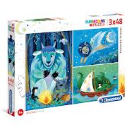 3 in 1 Children's Fantasy Puzzles