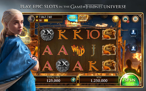 Game of Thrones Slots Casino - Free Slot Machines apktram screenshots 1
