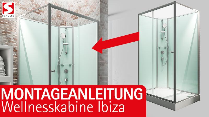 Video: Montage Wellnesskabine Ibiza