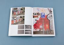 foto's van wegafsluiting resp. graffiti