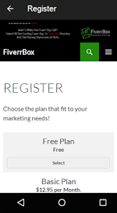 Directory of FiverrBox- screenshot thumbnail