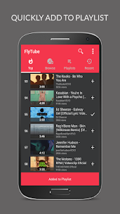 FlyTube Music Player for YouTube Screenshot
