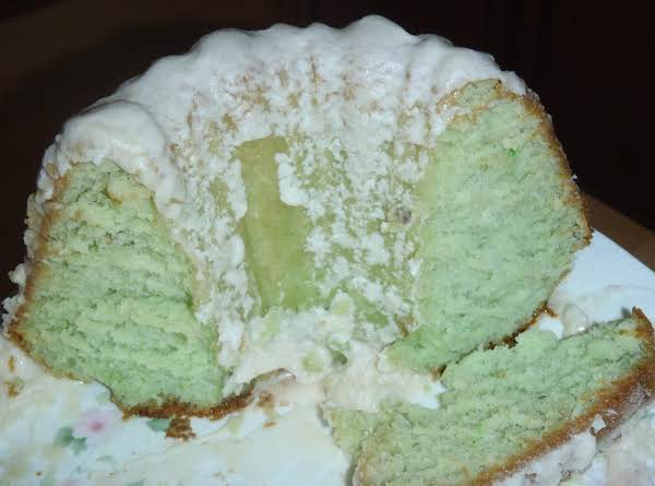 Grandma Overgaard's Pistachio Cake Recipe