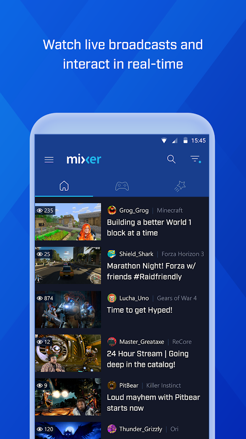 Mixer – Interactive Streaming- screenshot