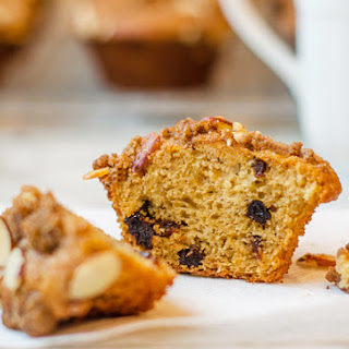 Dried Cherry Buttermilk Muffins with Almond Streusel Recipe