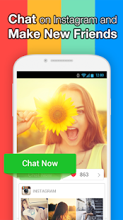 InstaMessage-Chat,meet,hangout- screenshot thumbnail
