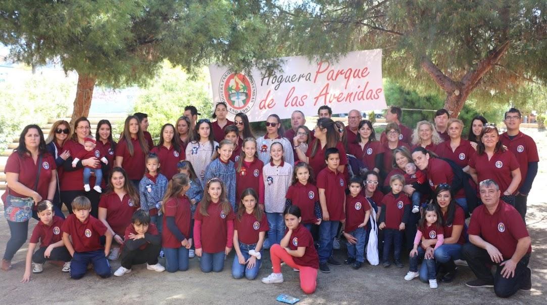 La foguera Parque de las Avenidas presenta sus monumentos 2018