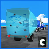 Sea Animals Transport Truck
