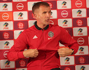 Milutin Sredojevic , coach of Orlando Pirates won Coach of the Month during the Absa Premiership 2018/19 Monthly Awards at PSL Offices, Johannesburg on 02 May 2019.
