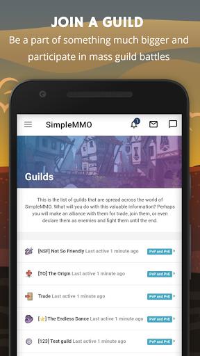 SimpleMMO - The Lightweight MMO apktram screenshots 4