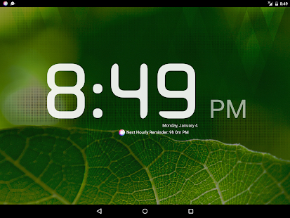 Hourly Talking Alarm Clock- screenshot thumbnail