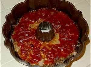 Taco Queso Bundt Meatloaf Recipe